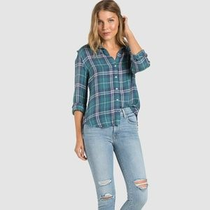 ANTHROPOLOGIE Plaid Button Down Shirt